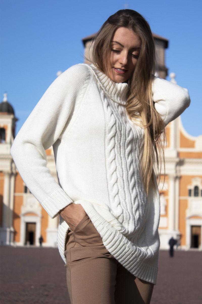 maglione inverno donna dolcevita