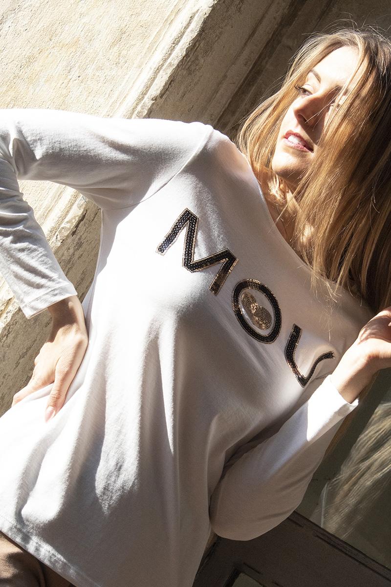 maglietta cotone mou donna