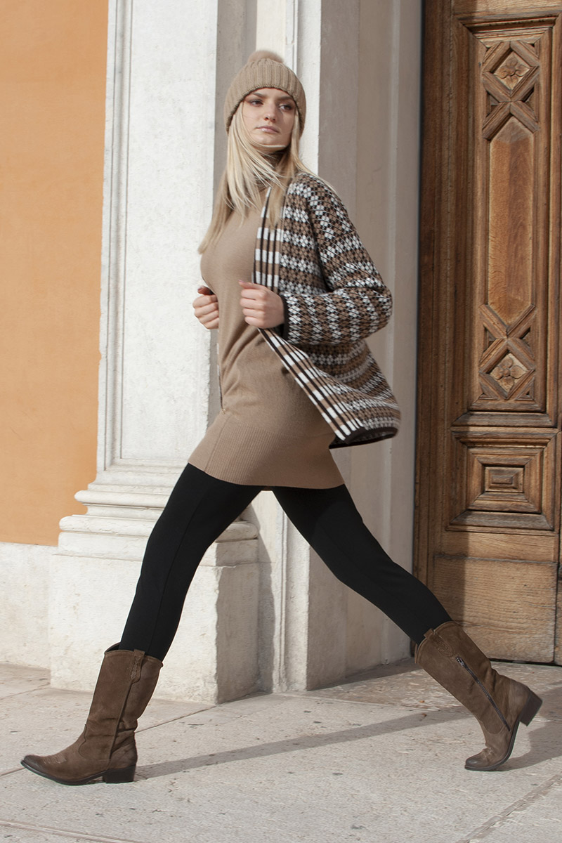 outfit casual mou invernale