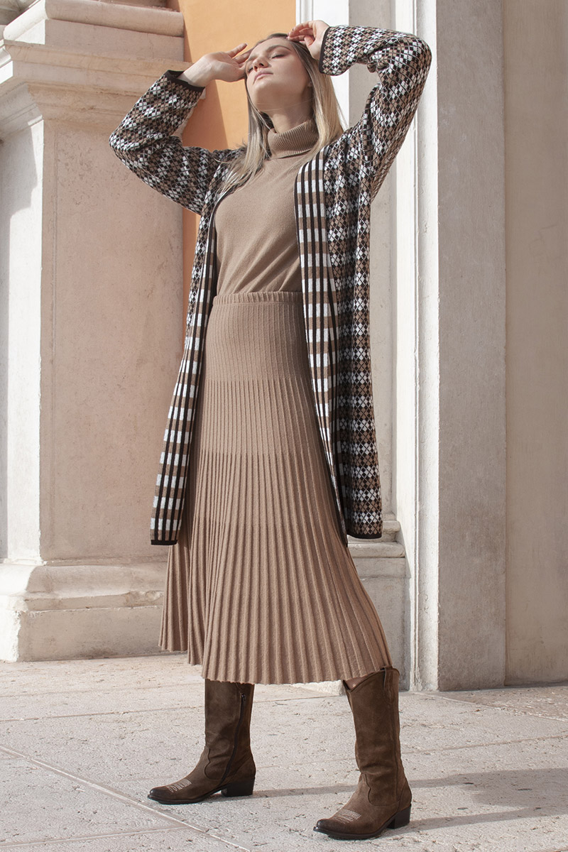 outfit maglieria donna mou